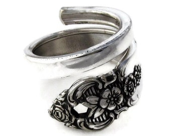 Spoon Ring Wrapped Distinction Choose Your Size