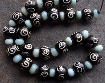 Giant Old Zen Beads from the African Trade