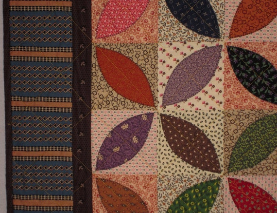 Orange Peel Vintage Quilt Pattern From Quilts By Elena