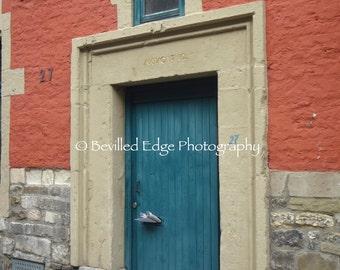 11x14 print of doorway in Achen, Germany