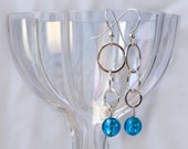 Authentic Venetian Glass Tri-drop Earrings