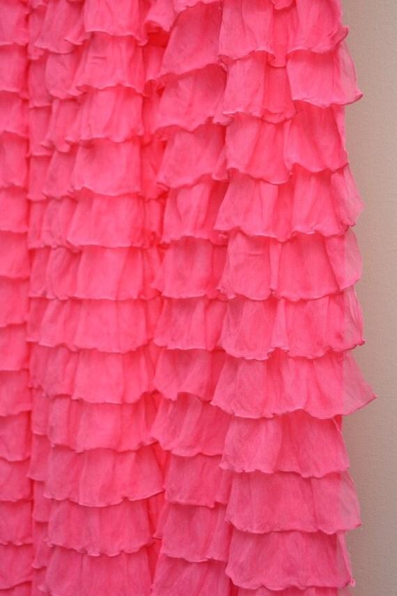 Hot Pink Crib Skirt 32
