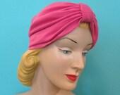 Vintage Pink Turban