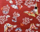 Amy Butler PWAB103 Alchemy Quilting Queen Anne's Butterflies Cotton Fabric 1 Yard
