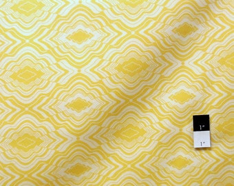 Jenean Morrison PWJM071 In My Room Pillow Fort Yellow Cotton Fabric 1 Yard