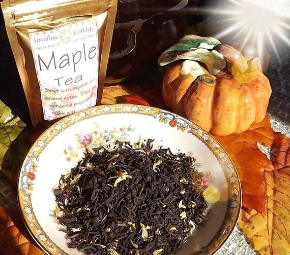 TEA, Maple,Specialty Blend, Loose Leaf, Black Tea