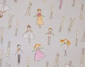 Heather Ross Crafty Chloe Clothespin People - By the Yard