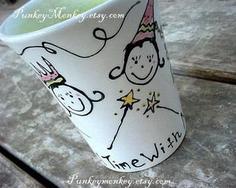 Custom mug pottery mugs you design personalized your theme kids adults teens Easter