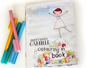 Camille Colouring In Book for all ages