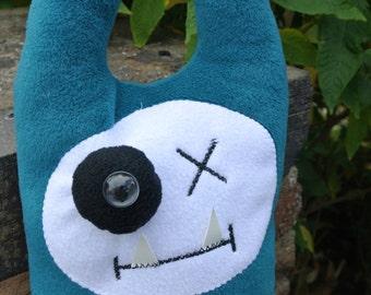 Monster Matt, he's a handmade plush.