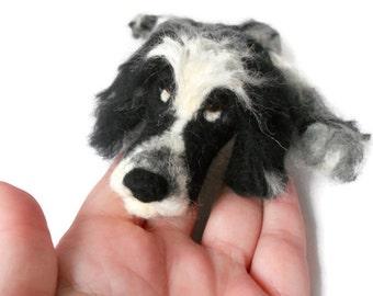 Custom - Needle felted Dog - example Needle Felted Cocker Spaniel