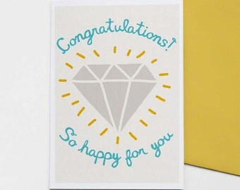 Bling Ring - wedding / engagement card