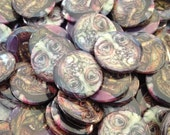 Zombie Buttons Pack of 3