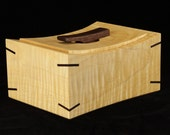 Decorative Wooden Box in Tiger Maple (made to order)