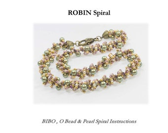 ROBIN  Amazing Spiral with BIBO or RULLA tutorial instructions for personal use only