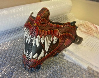 Custom Dragon Style Motorcycle Riding Mask