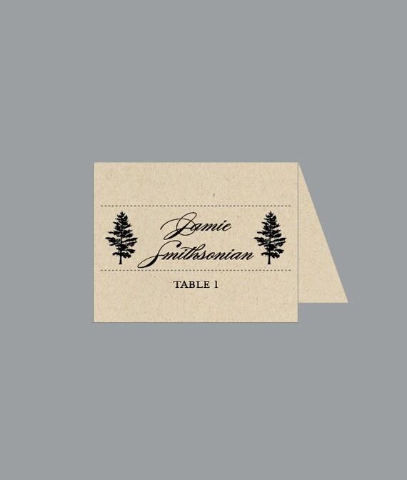 Wedding Reception Place Cards Vintage Antique By JKDesignOrlando