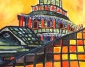 Finster's Chapel watercolor