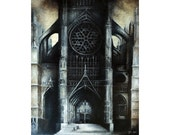 Beauvais Cathedral Fine Art Reproduction by Justin Miller