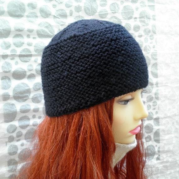 Knitting Pattern For Pillbox Hat : KNITTING PATTERN/ NATALIA Womans Pillbox Style Hat by artesana