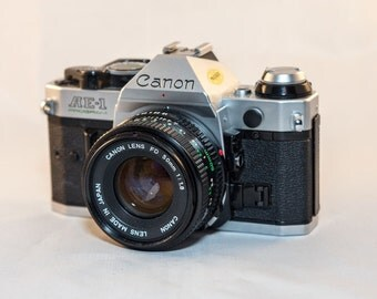 Vintage Canon AE-1 Program 35mm film Camera