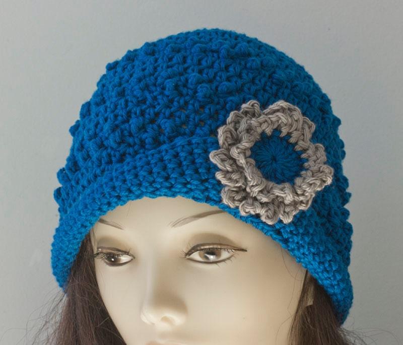 Knit Popcorn Stitch Hat Pattern : Popcorn Stitch Knit Hat Pattern images
