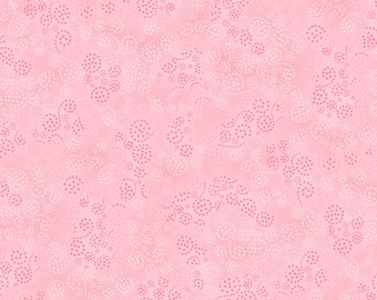 Cotton Fabric, Essentials Sparkles 39055-300 Pink Cotton Fabric by Wilmington Prints