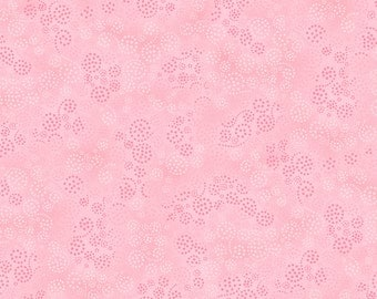 Essentials Sparkles 39055-300 Pink Cotton Fabric by Wilmington Prints