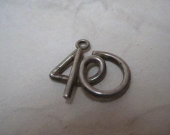 40 Silver Charm Vintage