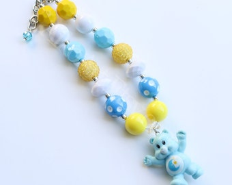 Bedtime Bear Care Bear Chunky Necklace
