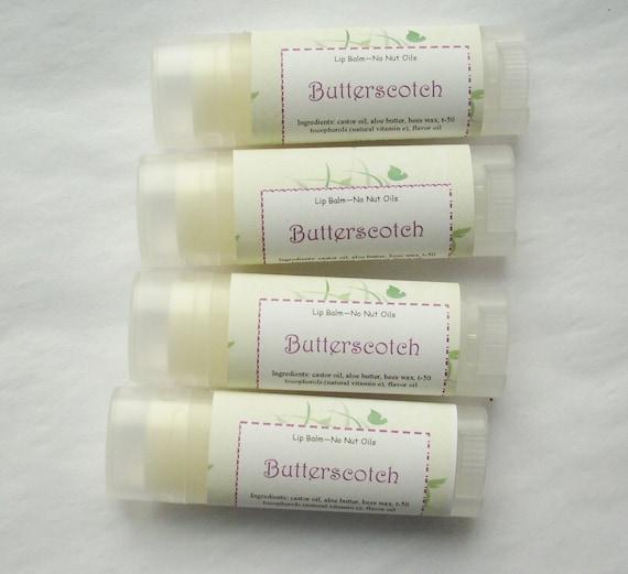 Butterscotch Lip Balm, seasonal