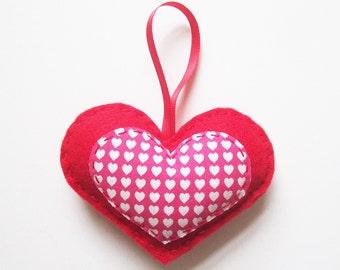 Lots of Hearts - Felt Love Heart Decoration