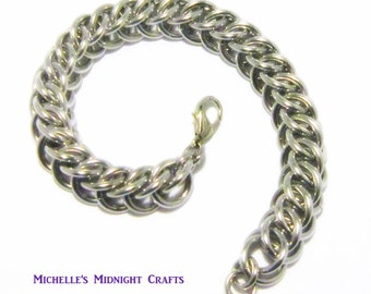 Half Persian 3 in 1 Chainmaille Bracelet