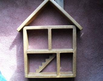 Shadow Box Wall Shelf hand made in Oak