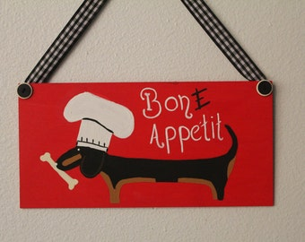 Dachshund Kitchen Decor  Bon E Appetit