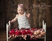 Newborn Photography Prop Bed with Mattress DIY Doll Furniture