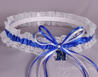 Duke University Blue Devils Lace Wedding Garter