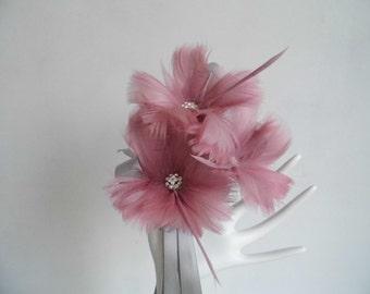 Flower Girl Wand - Dusty Pink