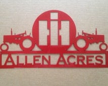 Popular items for metal wall decor on etsy for International harvester wall decor