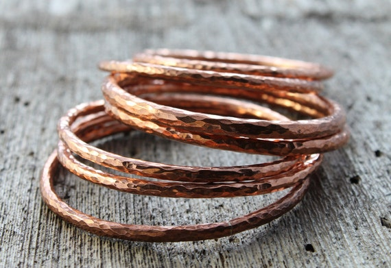 https://www.etsy.com/listing/163745655/chunky-hammered-copper-bangle-hand