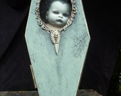 The Orphanage of misfit babes Coffin display case