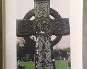 Celtic Cross Photo Art Notecard