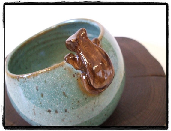 Cute Tuxedo Cat Salt Pig-Salt Cellar by misunrie