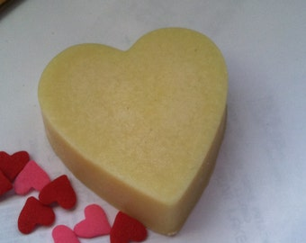 Cocoa Butter Massage Bar - Heart Shaped - Vegan-All Natural Ingredients