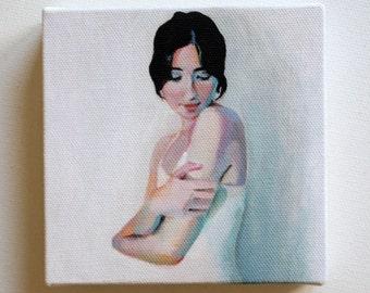 Naomi/ Tiny canvas print