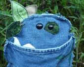 Leif handmade upcycled stuffed critter