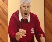 "18""x24"" Pop Art Painting of Bobby Knight"