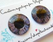 Custom eyechips for blythe dolls