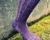 Meadow Hopper Knitted Socks Pattern