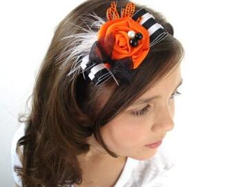 Ready to Ship SALE! Spunky Halloween Soft Elastic Headband, Custom Size